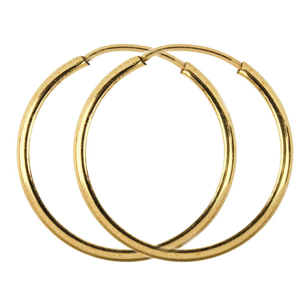 Timeless Gold Hoop Earrings, 14ct Gold Fill