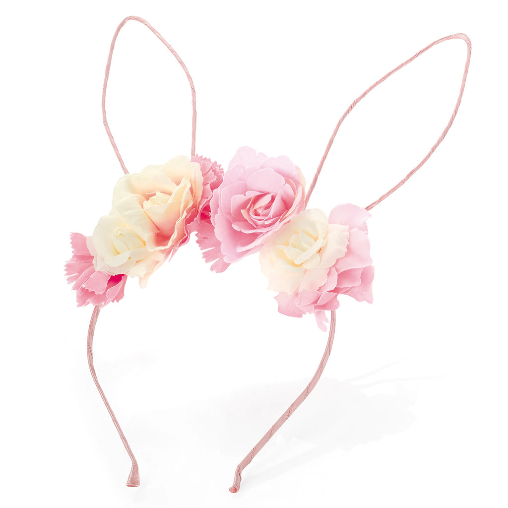 Bunny Ears Flower Headband