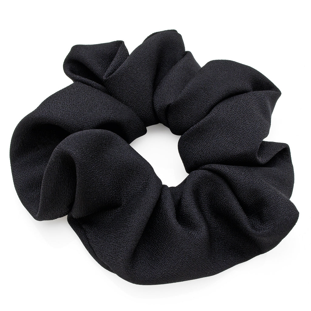 Plain Black Hair Scrunchie