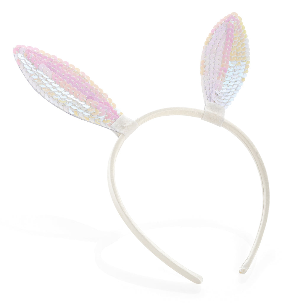 Mermaid Sequin Bunny Ears Alice Band