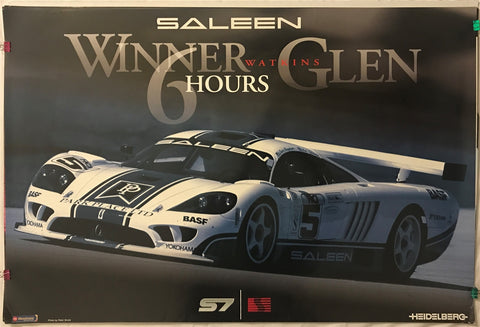 Saleen S7 Winner 6 Hour Watkins Glen 36 X 24 Poster