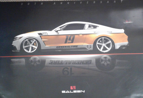Saleen Genral Tire Poster 24X36