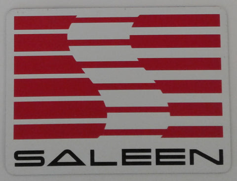 Saleen Corporate Logo Magnetic Decal