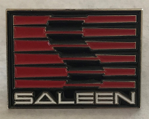 Saleen Enamel Pin