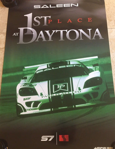 Saleen S7 1st Place At Daytona 36 X 24 Poster