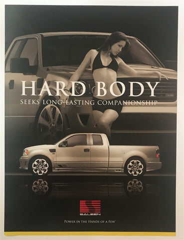 Saleen Hard Body S331 24 X 32 Poster RARE