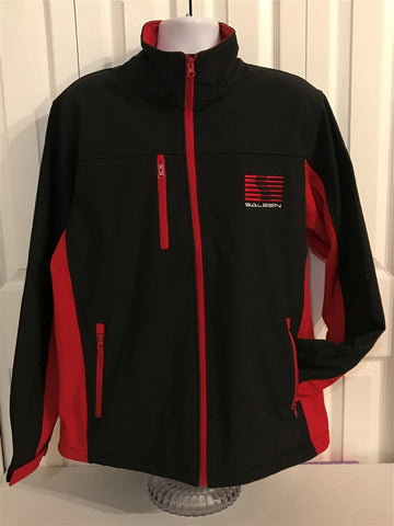 Saleen Soft-shell Jacket Black/Red