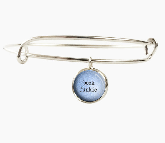 BOOK JUNKIE Bracelet (S5668) - PaperHeartDaily