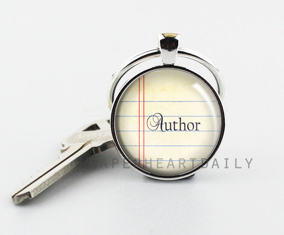 AUTHOR Keychain