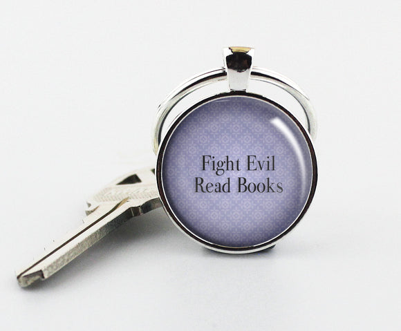 FIGHT EVIL Keychain