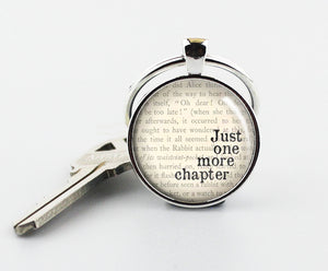 JUST ONE MORE CHAPTER Keychain