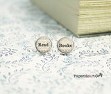 READ BOOKS Earrings