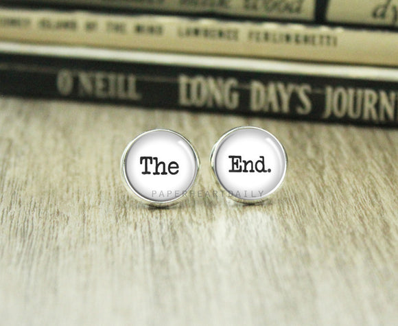 THE END Earrings