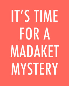 It's Time For A Madaket Mystery - Color Pop Print