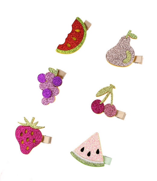 6pcs fruity hair clip-All-Times-Gifts