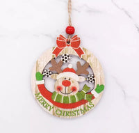3pcs/Set Christmas Wooden Pendants-Christmas Gifts-All-Times-Gifts