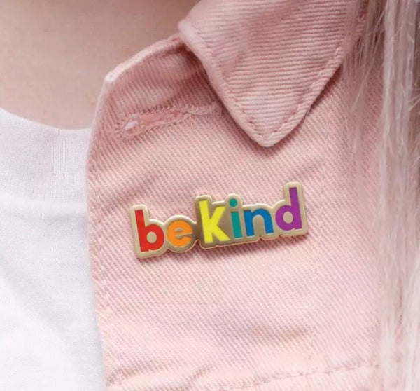 Be Kind Pin Brooch-All-Times-Gifts