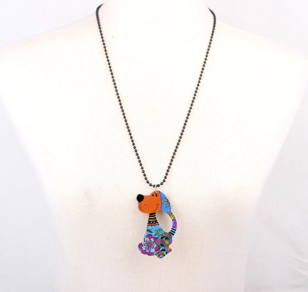 necklace acrylic animal design-All-Times-Gifts