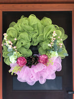 Poly mesh wreath-All-Times-Gifts