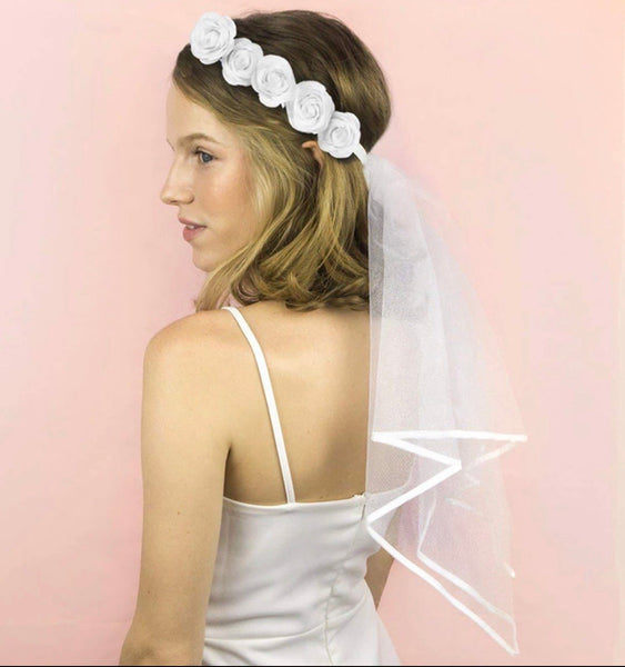 Bridal Head Crown Veils-All-Times-Gifts
