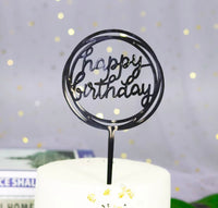 Circle Birthday Cake Topper-Cake Topper-All-Times-Gifts
