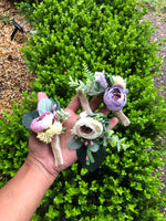 Buttonholes / Boutonnières custom made-Buttonholes-All-Times-Gifts