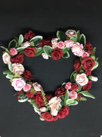 Valentine Floral Heart-Valentine's Day-All-Times-Gifts