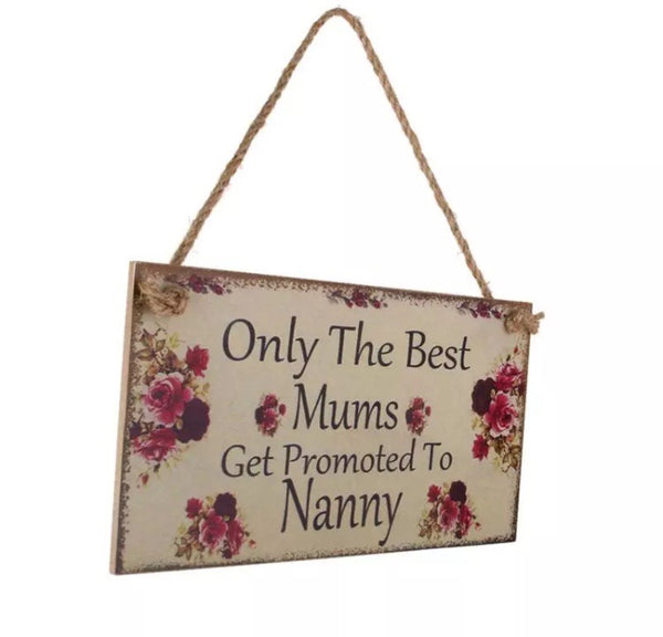 Wooden Hanging Wall Plaque for Appreciation for Mum-Home Decor-All-Times-Gifts