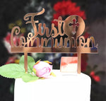 First Communion Cake Topper-Cake Topper-All-Times-Gifts