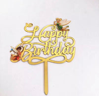 Fairy Birthday Cake Topper-Cake Topper-All-Times-Gifts