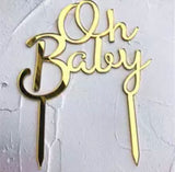 Baby shower Cake Topper-Cake Topper-All-Times-Gifts