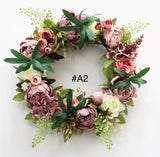 Floral Vine Grapes Wreath / Garland-All-Times-Gifts