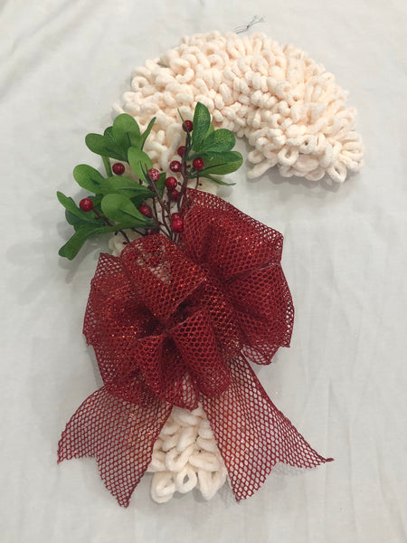 Christmas candy Cane Wreath-All-Times-Gifts