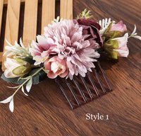 Floral Bridal Hair Comb-All-Times-Gifts