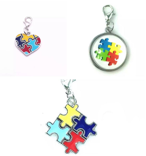 Autism awareness charm-All-Times-Gifts