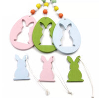 Egg or Rabbit Pendants Easter Decoration-All-Times-Gifts