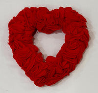 Valentine Felt Heart-Valentine's Day-All-Times-Gifts