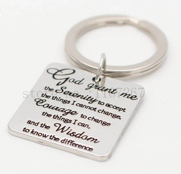 God grant me keychain-All-Times-Gifts