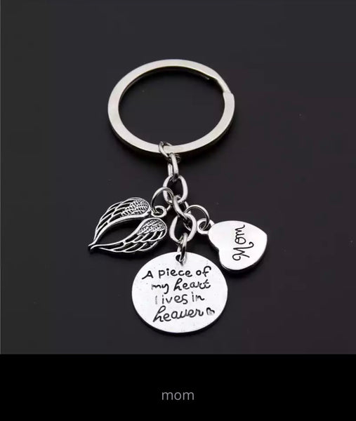 Family Members Memorial Key Ring-All-Times-Gifts