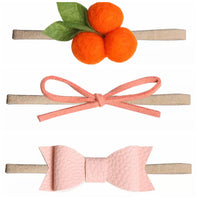 4pcs Baby / Toddler Headband Coral Shades-All-Times-Gifts