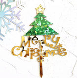 Merry Christmas Cake Topper-All-Times-Gifts