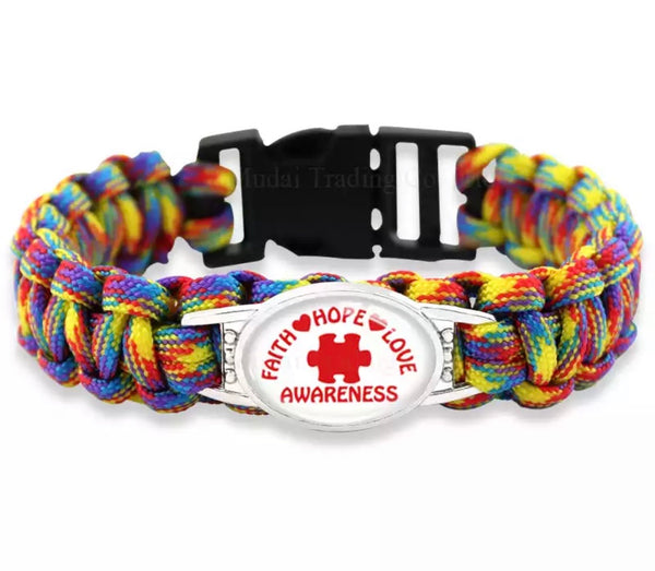 Autism Awareness Bracelet-All-Times-Gifts