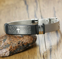 The Lord's Prayer Bracelet for Men-All-Times-Gifts