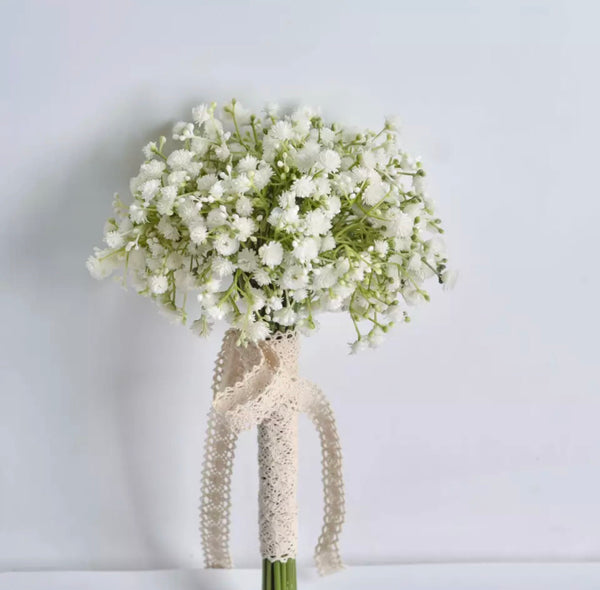 Baby's Breath Bridal Bouquet-All-Times-Gifts
