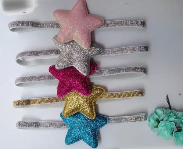 Glitter Star Headband set of five-Headset-All-Times-Gifts