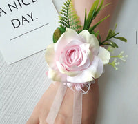 Floral Rose Corsage Bracelet-Event-All-Times-Gifts