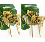 Birthday Mommy / Daddy Cake Topper-Cake Topper-All-Times-Gifts