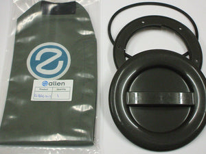 A337R-BAG - 100MM HATCH COVER - GREY with o-ring and bag