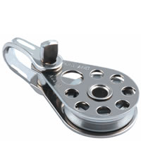 A4479 - 25MM HT BLK: SINGLE SHACKLE