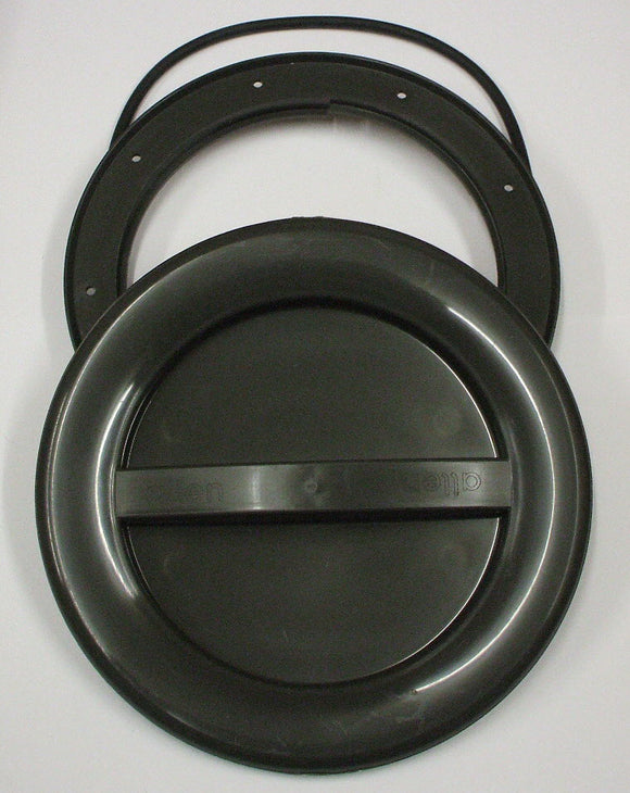 A537R - 145MM HATCH AND COVER - GREY with o-ring